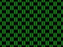seamless modell Geometriskt diagram för abstraktion av gräsplan på en svart bakgrund vektor Arkivfoto