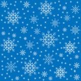 seamless modell Härliga vintersnöflingor Passande som att förpacka för julgåvor Skapar ett festligt lynne vektor vektor illustrationer