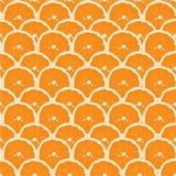 seamless modell tecknad hand Apelsin med benet Arkivbild