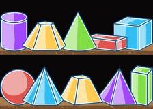 Seamless modellmatematikheltäckande stock illustrationer