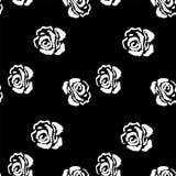 seamless modellrose Tappningbakgrund med Royaltyfria Bilder