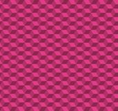 Abstract Cube Pattern Design - Pink Vector Illustration. Seamless Modern Abstract Cube Pattern Design - Pink Vector Illustration Royalty Free Stock Image