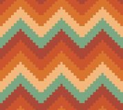 Seamless modern chevron zig zag pattern background Stock Image