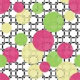 Seamless modern circles pattern Stock Photography