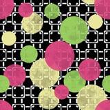 Seamless modern circles pattern Royalty Free Stock Photos