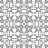 Seamless modern geometric pattern. Royalty Free Stock Images