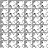 Seamless modern geometric pattern. Stock Image