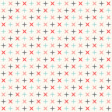 Seamless modern geometric polka rhombus pattern Stock Photo