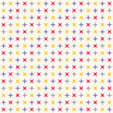 Seamless modern geometric polka rhombus pattern Royalty Free Stock Images
