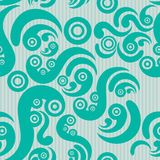 Seamless modern pattern Royalty Free Stock Photography