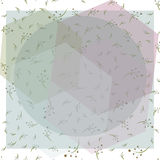Seamless modern pattern. background geometry color fabric sample. swatch  illustration Stock Image
