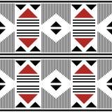 Seamless modern pattern of large geometric elements vector illustration
