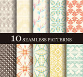 Seamless modern patterns Royalty Free Stock Photos