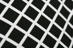 Seamless Modern Pixel Gingham Patterns black and white geometric background Rhythmic Texture Stock Photography