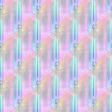 Seamless modern stripes pattern blue turquoise pink violet orange diagonally Stock Images