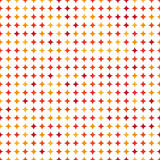 Seamless Modern Vector Pattern With Dots Stock Photography