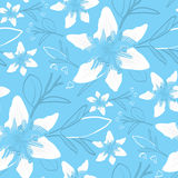 Seamless Modern Wallpaper Pattern. Seamless Wallpaper Tile - This pattern repeats on all sides. You can use it to fill your own custom shapes and backgrounds Stock Photos