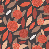 Seamless Modern Wallpaper Pattern. Seamless Wallpaper Tile - This pattern repeats on all sides. You can use it to fill your own custom shapes and backgrounds Stock Images