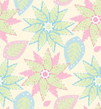 Seamless Modern Wallpaper Pattern. Seamless Wallpaper Tile - This pattern repeats on all sides. You can use it to fill your own custom shapes and backgrounds Royalty Free Stock Photos