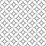 Seamless monochromatic star pattern. Seamless monochrome abstract star pattern design background Royalty Free Stock Images