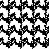 Seamless monochrome abstract pattern on a white background. High-quality vector illustration for your design. Seamless monochrome abstract pattern on a white Stock Photo