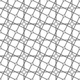 Seamless monochrome angular curved grid pattern. Seamless abstract monochrome angular curved grid pattern Stock Images