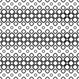 Seamless monochrome cobble stone pattern. Design background Stock Image