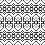Seamless monochrome cobble stone pattern Stock Image