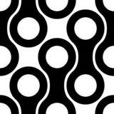 Seamless Monochrome Geometric Background Royalty Free Stock Photo
