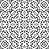 Seamless Monochrome Geometric Pattern. Seamless Monochrome line Geometric Pattern.  illustration Stock Images