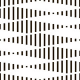Seamless Monochrome Geometric Wallpaper Royalty Free Stock Image