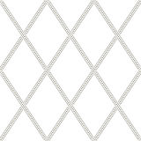 Seamless Monochrome Geometric Wallpaper Stock Photography