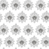 Seamless monochrome original pattern Royalty Free Stock Photography