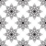 Seamless monochrome ornament Royalty Free Stock Image