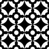 Seamless Monochrome Ornamental Background Royalty Free Stock Photography