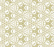 Seamless monochrome pattern Stock Photo
