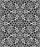 Seamless monochrome pattern Royalty Free Stock Photo