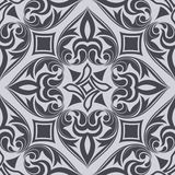 Seamless monochrome pattern. Stock Photography