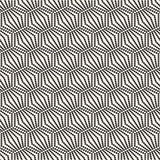 Seamless monochrome pattern geometric  with circles Stock Photos