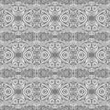 Seamless monochrome pattern Stock Images