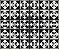 Seamless monochrome pattern 18 Royalty Free Stock Photos