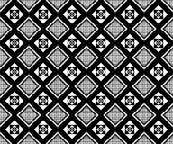 Seamless monochrome pattern 19 Stock Images