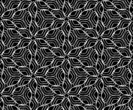 Seamless monochrome pattern 20 Stock Image