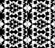Seamless monochrome pattern 12 Stock Photos