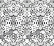 Seamless monochrome pattern 16 Stock Photos