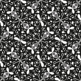 Seamless monochrome pattern 6 Royalty Free Stock Image