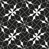 Seamless monochrome pattern 8 Royalty Free Stock Photo