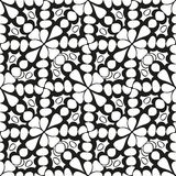 Seamless monochrome pattern 7 Royalty Free Stock Photography