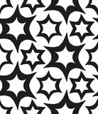 Seamless monochrome pattern 3 Royalty Free Stock Photos