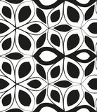 Seamless monochrome pattern 6 Stock Photography